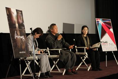 アリラン キム ギドク監督q A デイリーニュース2011 Tokyo Filmex 東京フィルメックス